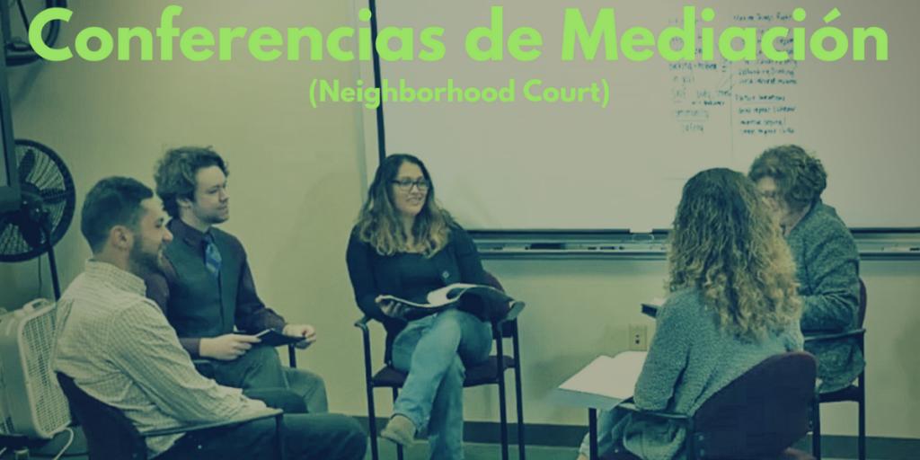 Conferencias de Mediacion